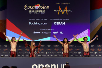 Ethan Torchio Victoria De Angelis Eurovision Song Contest 2021 - Winner's Press Conference