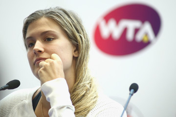 Eugenie Bouchard Dongfeng Motor Wuhan Open: Day 5