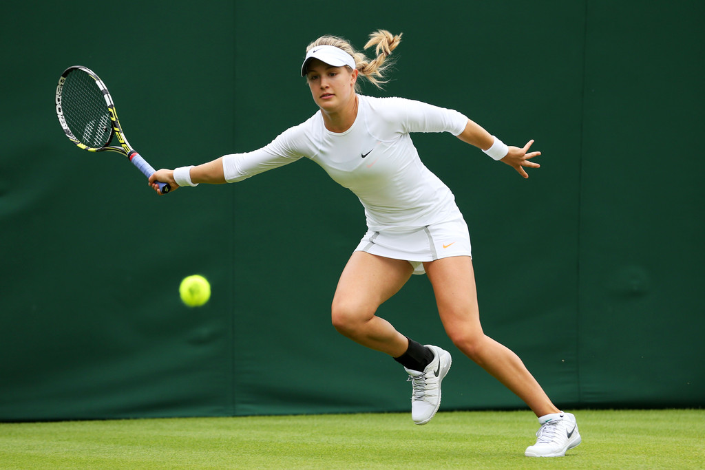 Eugénie Bouchard - Page 3 Eugenie+Bouchard+General+Views+Wimbledon+Opening+c1i8BobDfUJx