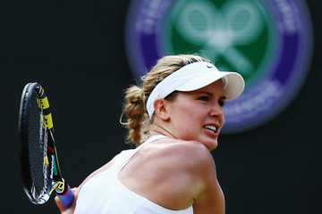 Eugenie Bouchard Wimbledon: Day 9