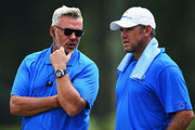 Darren Clarke and Lee Westwood Photos Photo