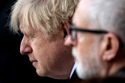 Boris Johnson and Jeremy Corbyn Photos Photo