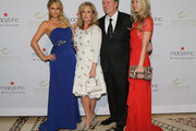 (L-R) Paris Hilton, Kathy Hilton; Rick Hilton and Nicky Hilton attend European School Of Economics Foundation Vision And Reality Awards on December 5, 2012 in New York City.