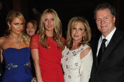 (L-R) Paris Hilton, Nicky Nilton, Kathy Hilton and Rick Hilton attend European School Of Economics Foundation Vision And Reality Awards on December 5, 2012 in New York City.