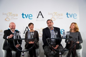 Eva Cebrian Goya Film Awards 2013 Press Conference