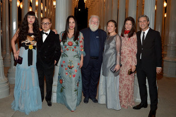 Eva Chow Michael Govan LACMA 2015 Art+Film Gala Honoring James Turrell and Alejandro G Inarritu, Presented by Gucci - Inside