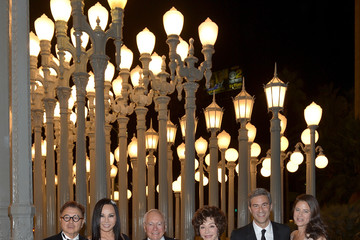 Eva Chow Michael Govan LACMA 2013 Art + Film Gala Honoring Martin Scorsese And David Hockney Presented By Gucci - Inside