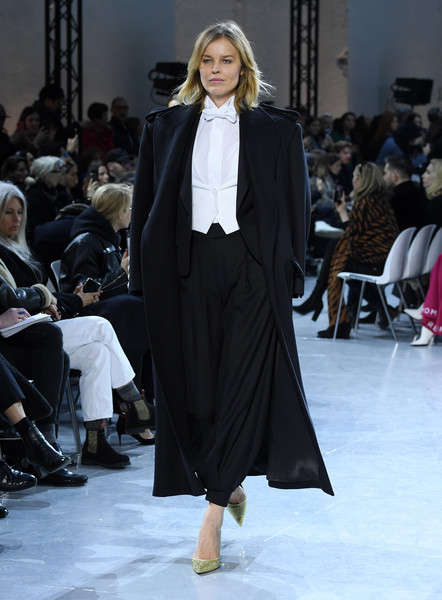 Eva Herzigova Eva Herzigova Photos Alexandre Vauthier Runway Paris Fashion Week Haute Couture Spring Summer 2020 Zimbio
