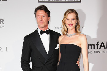 Eva Herzigova Arrivals at the Cinema Against AIDS Gala