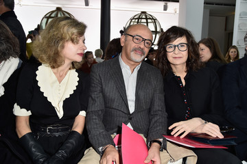 Eva Ionesco Schiaparelli : Front Row - Paris Fashion Week - Haute Couture Spirng Summer 2016