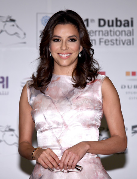 Eva Longoria Eva Longoria attends the Global Gift Gala press conference during day five of the 11th Annual Dubai International Film Festival held at the Madinat Jumeriah Complex on December 14, 2014 in Dubai, United Arab Emirates.