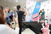 Eva Mendes meets with fans during the launch of her fall collection with new extended sizes at New York & Company in Los Cerritos Center on September 14, 2017 in Cerritos, California.