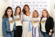 Eva Mendes (C) visits New York & Company Store on March 15, 2019 in Burbank, California.