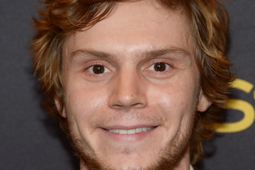 Evan Peters Hollywood Foreign Press Association And InStyle Celebrate The 2017 Golden Globe Award Season