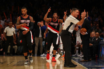 Evan Turner Portland Trail Blazers v New York Knicks