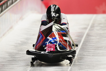Evan Weinstock Bobsleigh - Winter Olympics Day 10