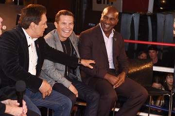 Evander Holyfield Muhammad Ali Tribute Event at Gleason's Gym