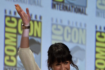 """Evangeline Lilly Marvel's Hall H Panel For """"Ant-Man"""" And """"Avengers: Age Of Ultron"""""""