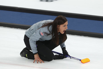 Eve Muirhead Curling - Winter Olympics Day 14