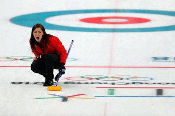 Eve Muirhead Curling - Winter Olympics Day 15