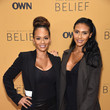 Evelyn Lozada Guests Attend the 'Belief' New York Premiere