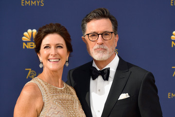 Evelyn McGee Colbert 70th Emmy Awards - Arrivals