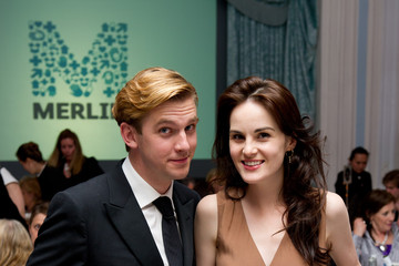 Dan Stevens Michelle Dockery An Evening With Downton Abbey - Raising Money For Merlin - The Medical Relief Charity
