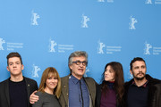 Actors Robert Naylor, Marie Josee Croze, director Wim Wenders and actors Charlotte Gainsbourg and James Franco attend the 'Every Thing Will Be Fine' photocall during the 65th Berlinale International Film Festival at Grand Hyatt Hotel on February 10, 2015 in Berlin, Germany.