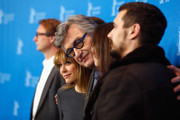 Screenwriter Bjorn Olaf Johannessen, actress Marie Josee Croze, director Wim Wenders and actors Charlotte Gainsbourg and James Franco attend the 'Every Thing Will Be Fine' photocall during the 65th Berlinale International Film Festival at Grand Hyatt Hotel on February 10, 2015 in Berlin, Germany.