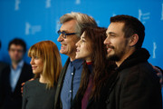 Actress Marie Josee Croze, director Wim Wenders and actors Charlotte Gainsbourg and James Franco attend the 'Every Thing Will Be Fine' photocall during the 65th Berlinale International Film Festival at Grand Hyatt Hotel on February 10, 2015 in Berlin, Germany.