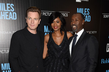 Ewan McGregor Emayatzy Corinealdi  The Cinema Society with Ketel One and Robb Report Host a Screening of Sony Pictures Classics' 'Miles Ahead' - Arrivals
