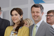 THR Prince Frederik of Denmark and Crown Princess Mary of Denmark attend an opening ceremony of the Denmark Pavilion at the 2012 Yeosu Expo on May 12, 2012 in Yeosu, South Korea. The Crown Prince and Crown Princess of Denmark are on a six-day visit to South Korea.