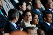 THR Prince Frederik of Denmark and Crown Princess Mary of Denmark attend at the opening ceremony of the 2012 Yeosu Expo on May 11, 2012 in Yeosu, South Korea. More than 105 countries, 10 International Organizations and 10 million visitors are expected to participate in the expo that will open to the public on May 12 to August 12.