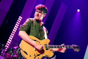 Ezra Koenig iHeartRadio Album Release Party With Vampire Weekend At The iHeartRadio Theater LA