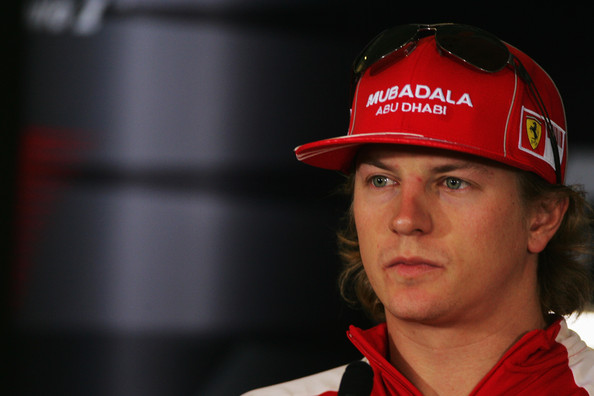 Kimi Raikkonen of Finland and Ferrari attends the drivers' press conference during previews to the Abu Dhabi Formula One Grand Prix at the Yas Marina Circuit on October 29, 2009 in Abu Dhabi, United Arab Emirates.