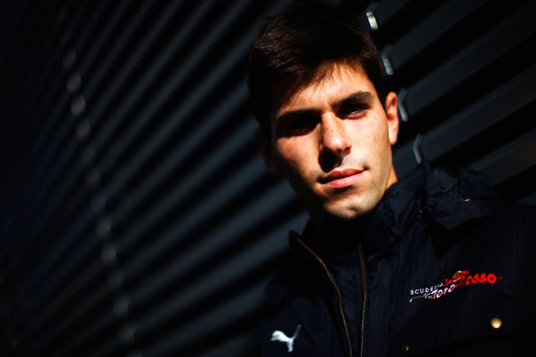 Jaime Alguersuari of Spain and Scuderia Toro Rosso is seen in the paddock during qualifying for the Belgian Grand Prix at the Circuit of Spa Francorchamps on August 29, 2009 in Spa Francorchamps, Belgium.