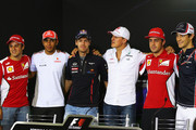 Michael Schumacher and Fernando Alonso Photos Photo