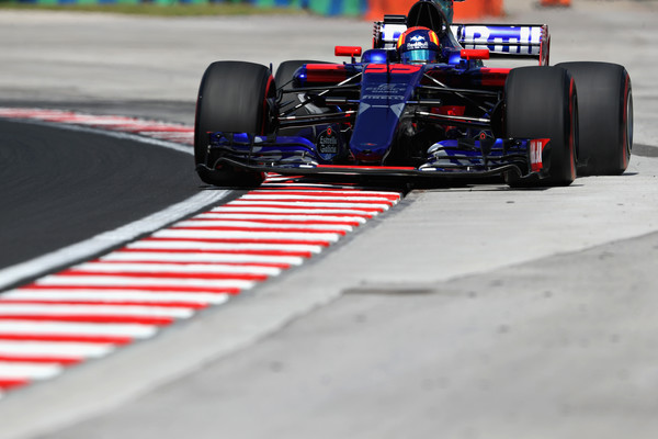 Carlos Sainz of Spain and Scuderia Toro Rosso