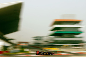 Bruno Senna F1 Grand Prix of India - Qualifying