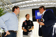 Christian Horner Mario Moretti Polegato Photos Photo