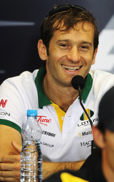 Jarno Trulli of Italy and Lotus attends the drivers press conference during previews to the Turkish Formula One Grand Prix at Istanbul Park on May 27, 2010, in Istanbul, Turkey.
