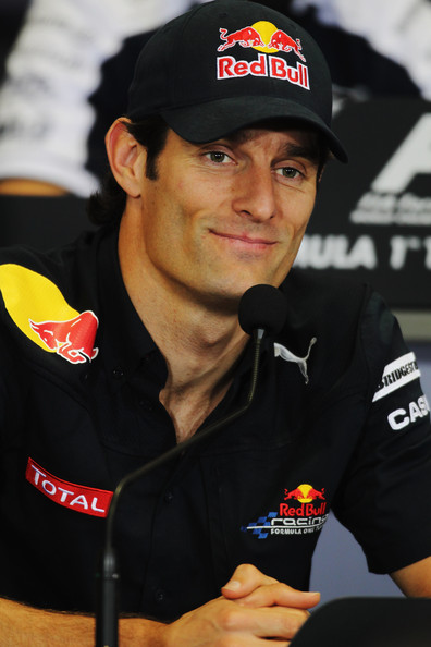Mark Webber of Australia and Red Bull Racing attends the drivers press conference during previews to the Turkish Formula One Grand Prix at Istanbul Park on May 27, 2010, in Istanbul, Turkey.