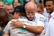 Nico Rosberg Dieter Zetsche Photos Photo