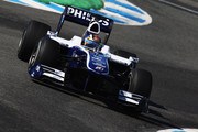 Nico Huelkenburg of Germany and Williams drives during winter testing at the Circuito De Jerez on February 19, 2010 in Jerez de la Frontera, Spain.