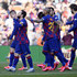 Lionel Messi Sergio Busquets Photos - Lionel Messi of FC Barcelona celebrates with teammates after scoring his team's first goal during the La Liga match between FC Barcelona and SD Eibar SAD at Camp Nou on February 22, 2020 in Barcelona, Spain. - FC Barcelona v SD Eibar SAD  - La Liga