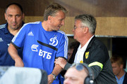 Guus Hiddink Dan Petrescu Photos Photo