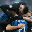 Davide Santon and Ivan Perisic Photos