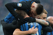Davide Santon and Ivan Perisic Photos Photo