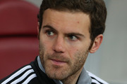 Juan Mata of Chelsea looks on during the UEFA Europa League Round of 16 match between FC Steaua Bucuresti and Chelsea at the National Arena on March 7, 2013 in Bucharest, Romania.