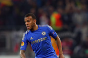 Ryan Bertrand of Chelsea in action during the UEFA Europa League Round of 16 match between FC Steaua Bucuresti and Chelsea at the National Arena on March 7, 2013 in Bucharest, Romania.